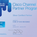 COM-4T postao Cisco Silver Certified Partner