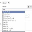 Nove opcije za pol na Facebooku