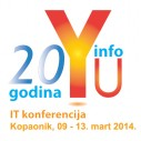 Jubilarna 20. konferencija YU INFO 2014