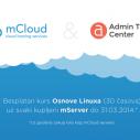 Besplatno naučite osnove Linuxa uz mCloud server