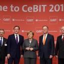 Angela Merkel i Dejvid Kameron otvorili CeBIT 2014