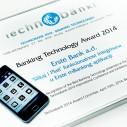 """TECHNOBANK: """"Slikaj i plati"""" najbolja bankarska aplikacija"""