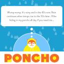 Poncho - personalizovana vremenska prognoza