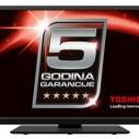 Toshiba: 5 godina garancije i za televizore