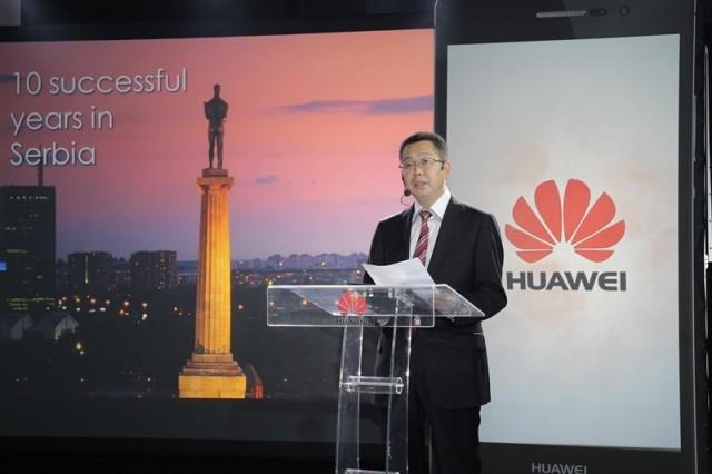 Jack Wei, general manager Huawei Serbia