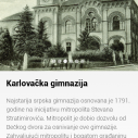 """Ruta """"Sremski Karlovci"""" u okviru aplikacije """"Novi Sad priča"""""""