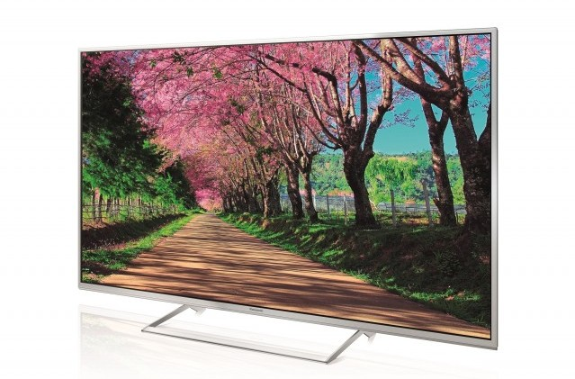 Panasonic VIERA TX-55AS740E Left with in-screen image