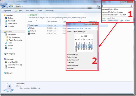 WindowsDatumsko pronalazenje zaboravljenih fajlova