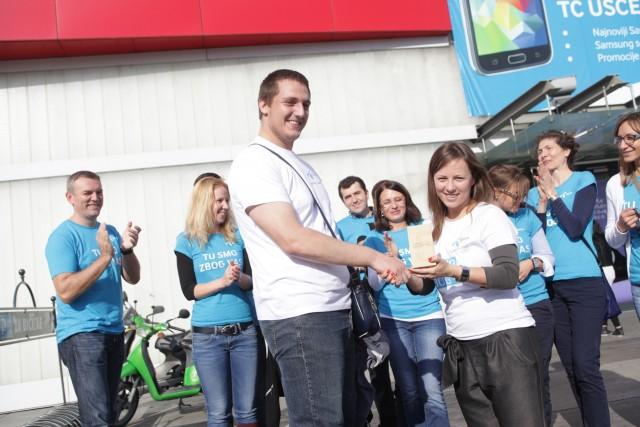 Pobednik takmicenja Pametna mesta Milija Milanovic u okviru akcije Plavi karavan
