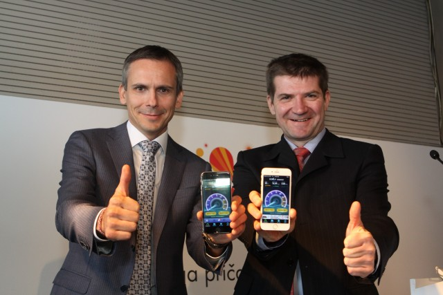 Dejan Kastelic, Vip mobile CTO i Dejan Turk, Vip mobile CEO