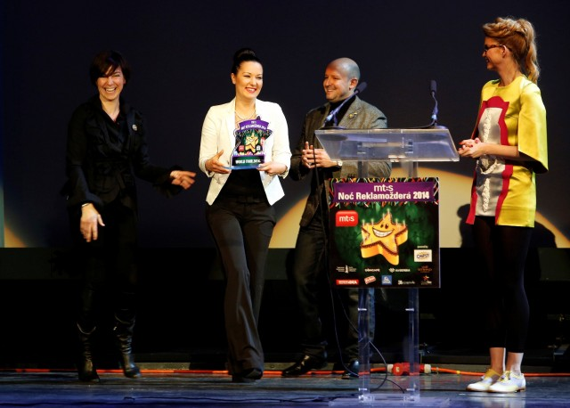 Marija Boskovic, Telekom Srbija, prima nagradu World Tour