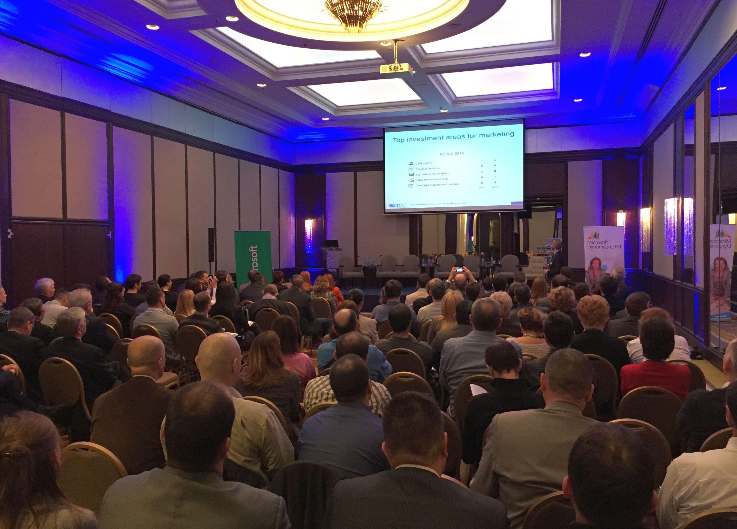 Microsoft IDC - CRM online event