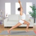 Pametna strunjača: zabavna joga