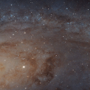 Fotografija od 1.5 MILIJARDI piksela galaksije Andromeda