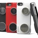 iPhone maska, punjač i zvučnik za telefon - u jednom