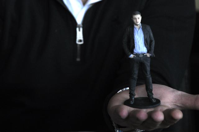 Ljudska figura odštampana 3D tehnologijom