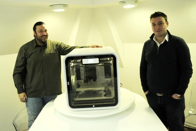 CubePro 3D štampač smo imali prike da vidimo u kompaniji Jet Direct