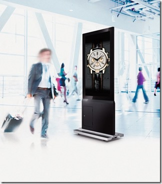 BenQ DH551C Dual Sided Display