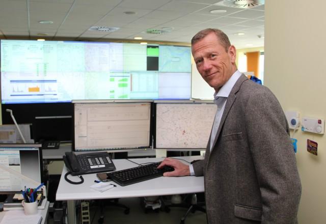 Uve Fredhajm, generalni direktor Telenora u Srbiji pusta 4G signal