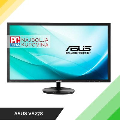 ASUS VS278 - Najbolja kupovina