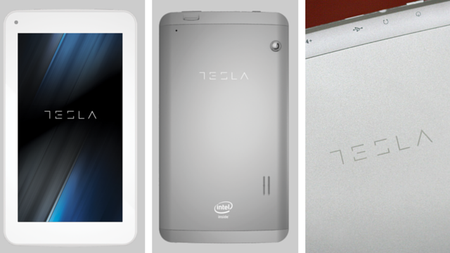 Tesla Tablet L7 Quad - Silver