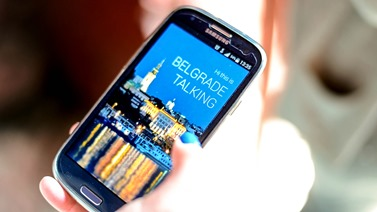 Aplikacija Beograd prica