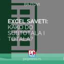 Excel - Međuzbirovi i konačni zbir