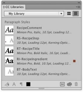 """Mogućnost da stilovi  karaktera i pasusa InDesign‑a budu deo biblioteka koje se deli između programa i korisnika povećava produktivnost i recikliranje postojećeg tipografskog """"koda"""""""