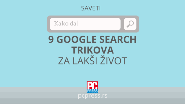 Google Search trikovi pc press