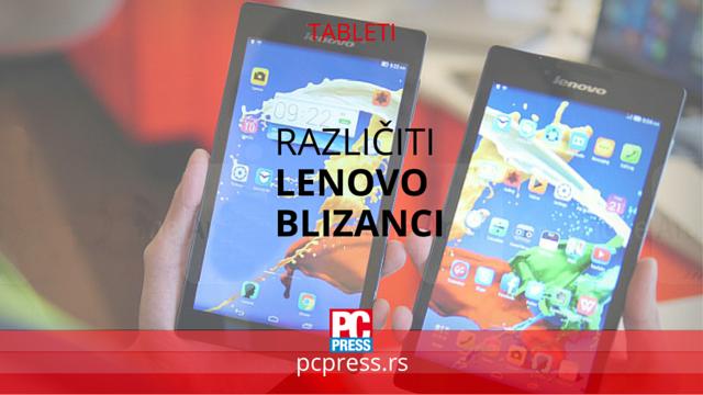 Lenovo tableti pc press