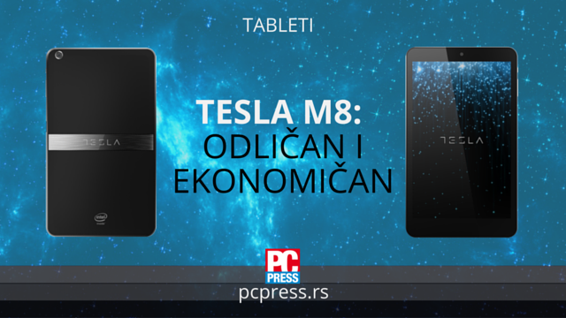Tesla M8 tablet