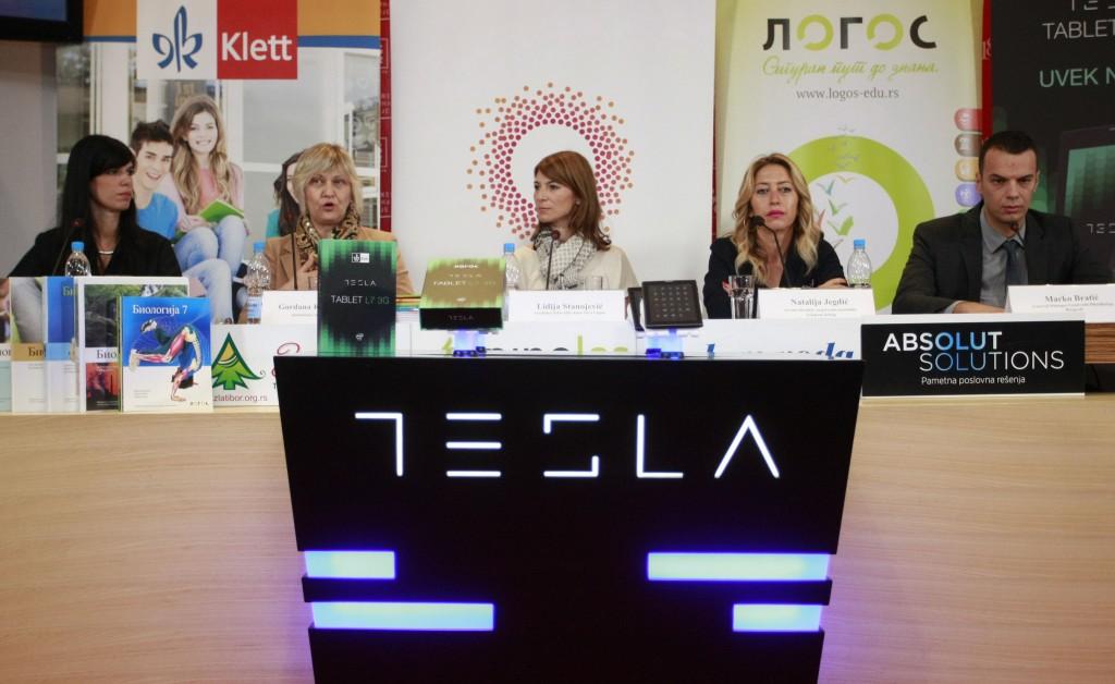 Gordana Knezevic Orlic, Klett, Jasmina Stojanovic, Novi Logos, Natalija Jegdic, Telekom Srbija i Marko Bratic, Comtrade