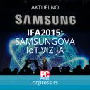 Samsung predstavio IOT viziju na sajmu IFA