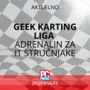 Geek karting liga vo.1: Adrenalin za IT stručnjake