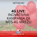 4G LIVE: Inovativna kampanja demonstrirala mogućnosti mts 4G mreže