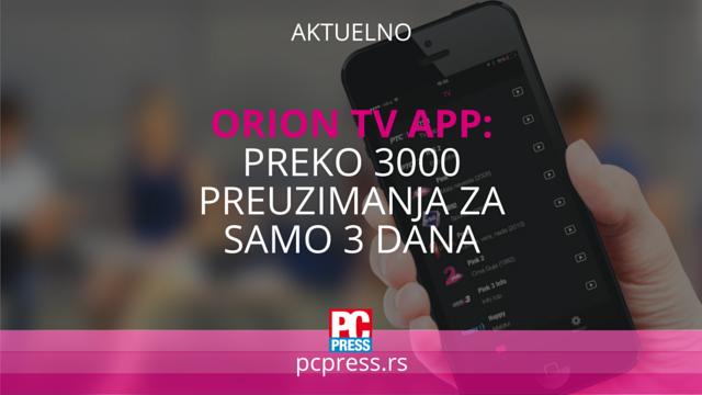orion tv app pcpress