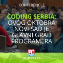 Coding Serbia Conference: Ovog oktobra Novi Sad je glavni grad programera