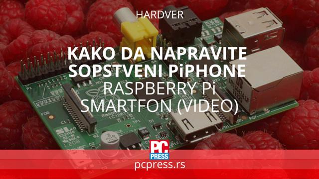 Raspberry Pi smartfon pcpress