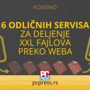 6 odličnih servisa za slanje XXL fajlova preko Weba