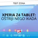 Xperia Z4 Tablet: Oštriji nego ikada