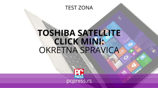 Toshiba Satellite Clic Mini pcpress