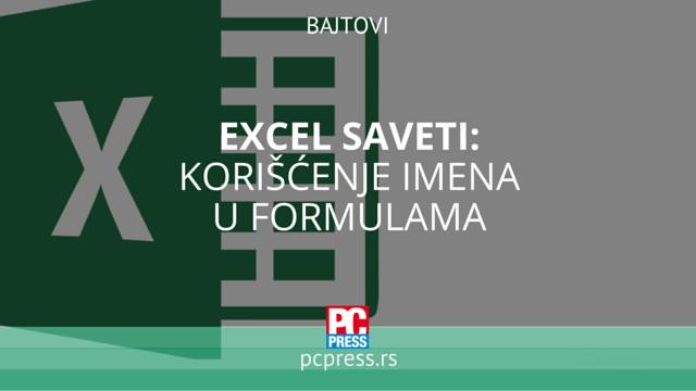 Excel saveti formule pcpress