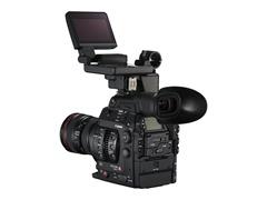 EOS C300 Mark II BSL 24-105 f4L LCD Monitor Up