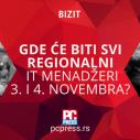 Gde će se okupiti regionalni IT menadžeri 3. i 4. novembra?