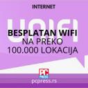 Besplatan wifi na preko 100.000 lokacija