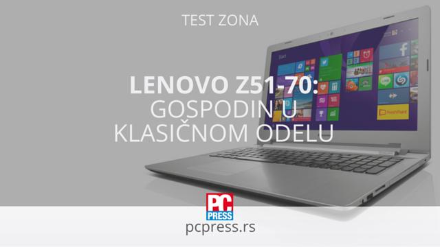 Lenovo Notebook Z51-70 pcpress
