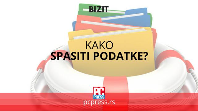 kako spasiti podatke pcpress