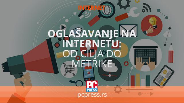 internet oglasavanje cilj metrika pcpress