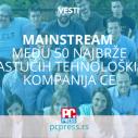 Srpski Mainstream među 50 najbrže rastućih tehnoloških kompanija u centralnoj Evropi
