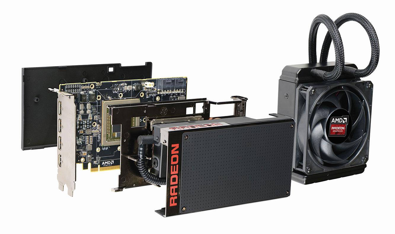 Fury i Fury X nemaju memorijske čipove raspoređene na PCB‑u, već je kompletna memorija ujedinjena s GPU‑om